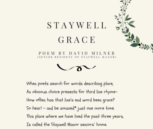 Staywell Grace by David Milner